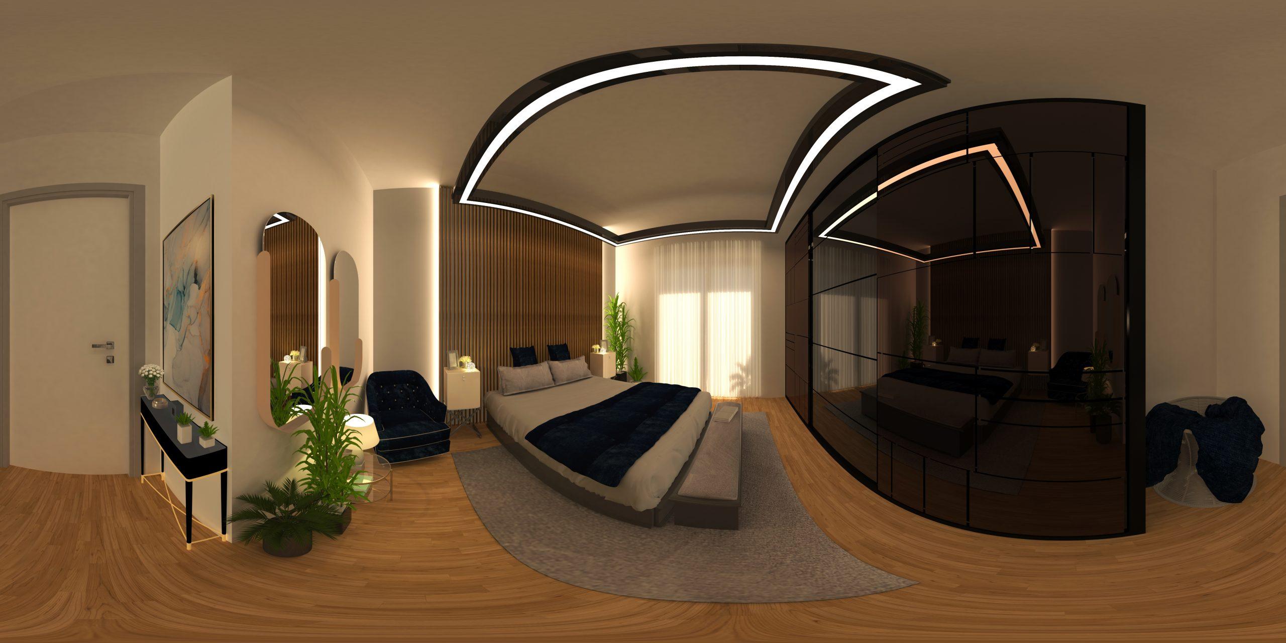 virtual tour camera da letto